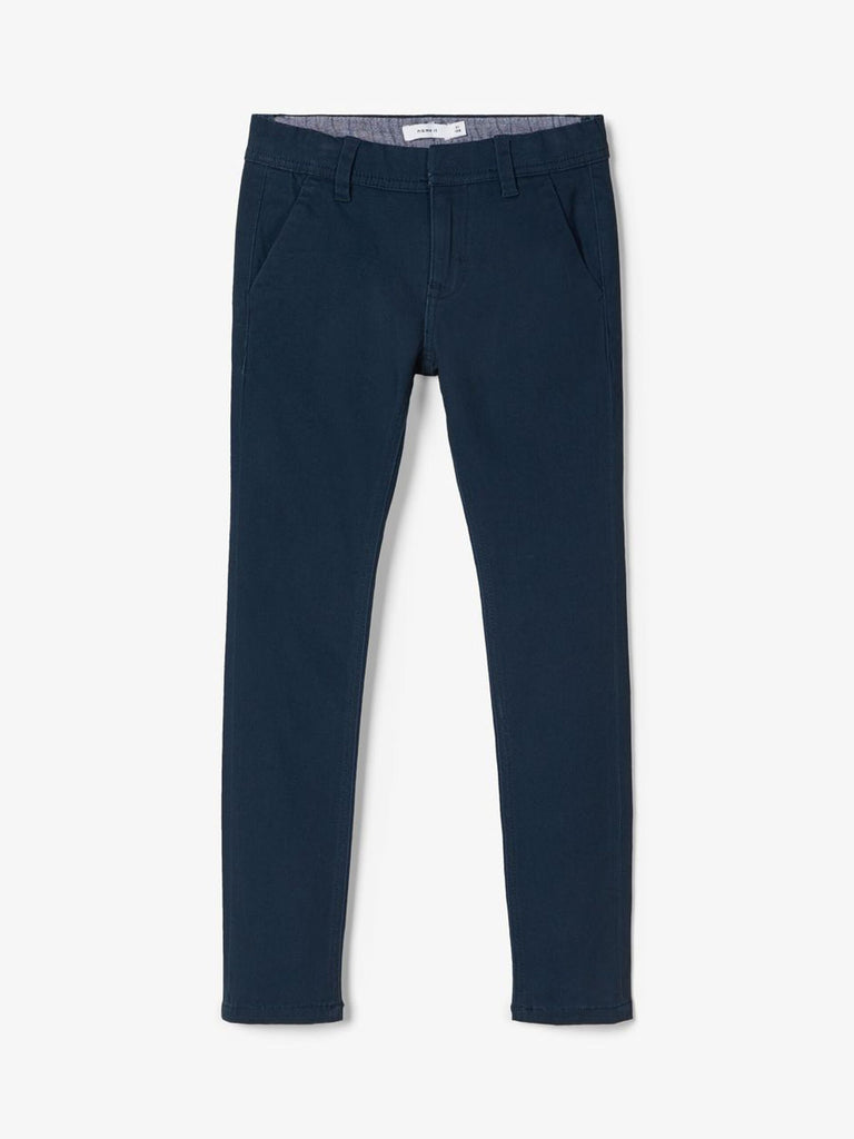 Robin Regular Fit Cotton Twill Chinos navy
