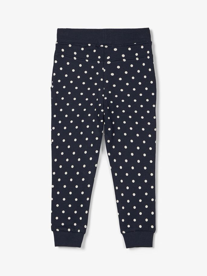Girls Louisa Navy Sweat Pants