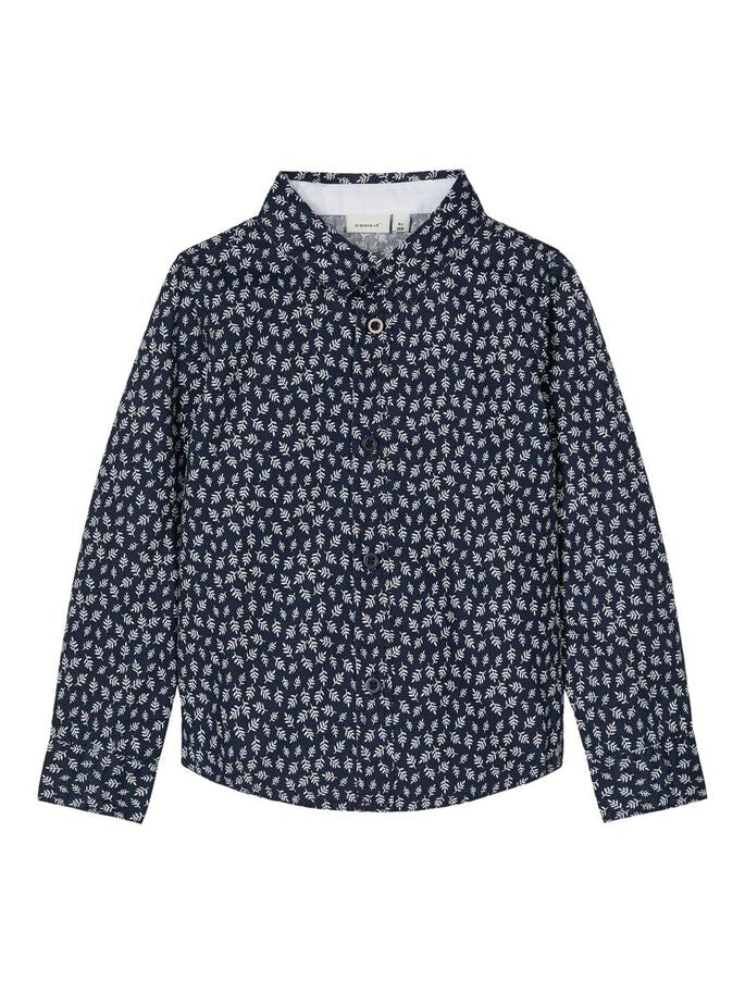 Raz Long Sleeved Shirt navy