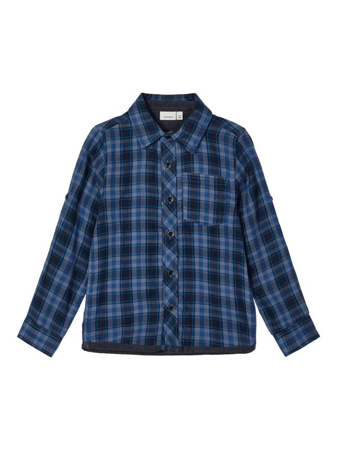 Nattergal Long Sleeve Checked Shirt