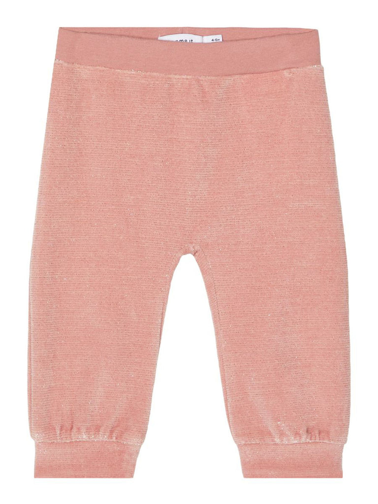 Rafine Glittery Pant Newborn blush