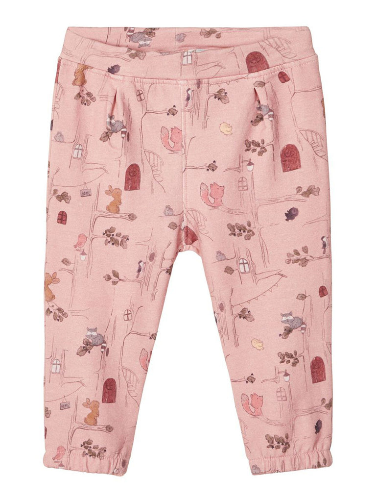 Sille Printed Sweat Pants blush