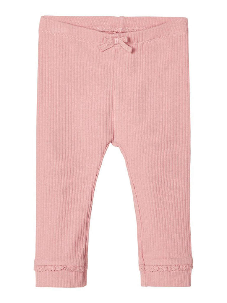 Sine Rib Legging  blush