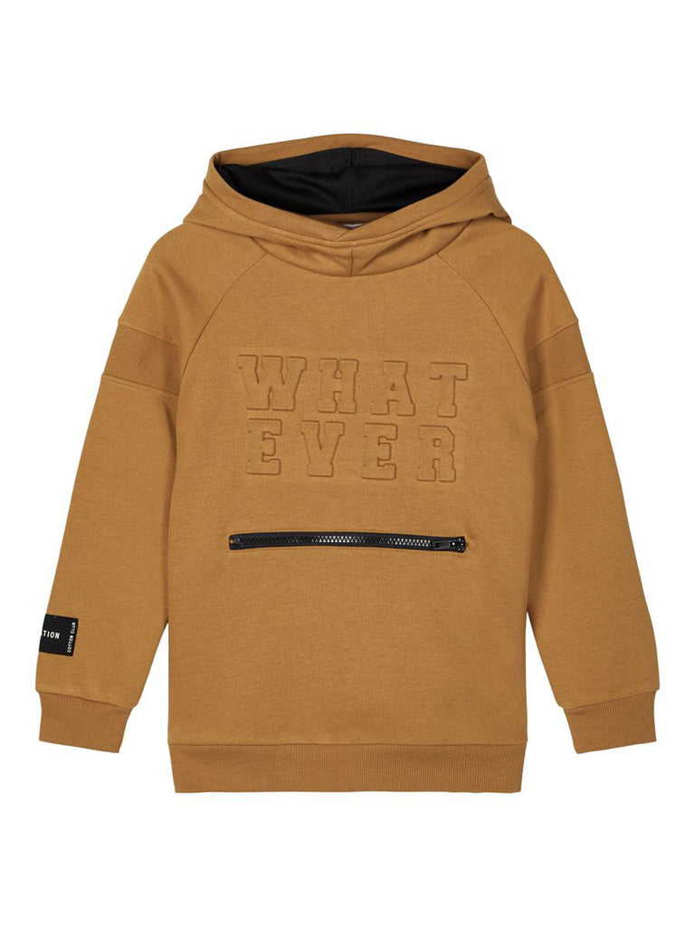 Roman Long Sleeve Sweat Hood sand