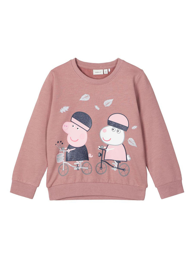 Peppapig Aurora Sweat  pink