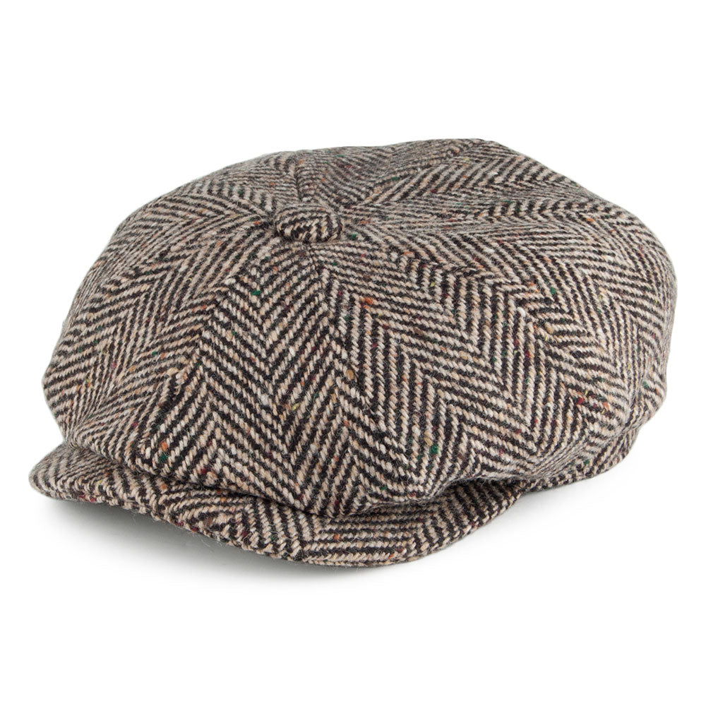 Failsworth Hats Donegal Mayo Newsboy Tan Cap