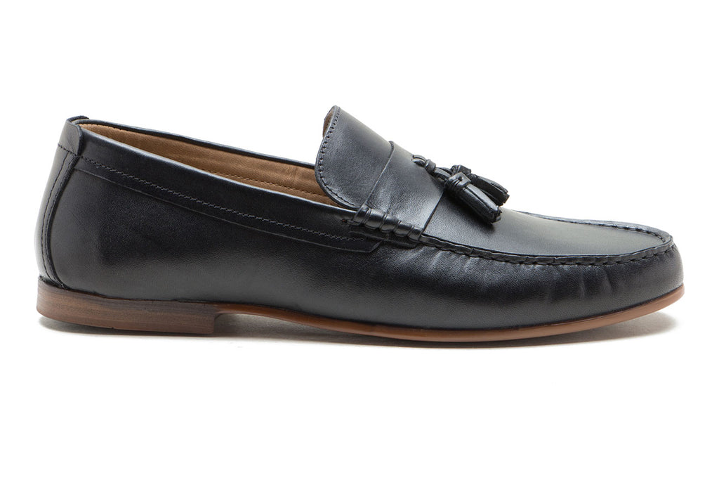 Elvaston Black Shoe Loafer