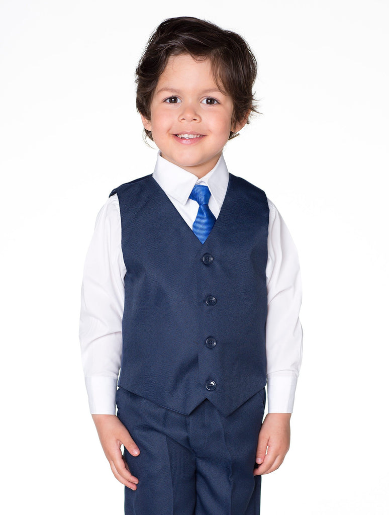 Bertie Blue 4 Piece Suit