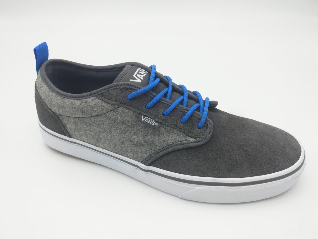 Vans Atwood Outdoor Gray & White Suede & Canvas Trainer. Code : VN000TUYUGW1