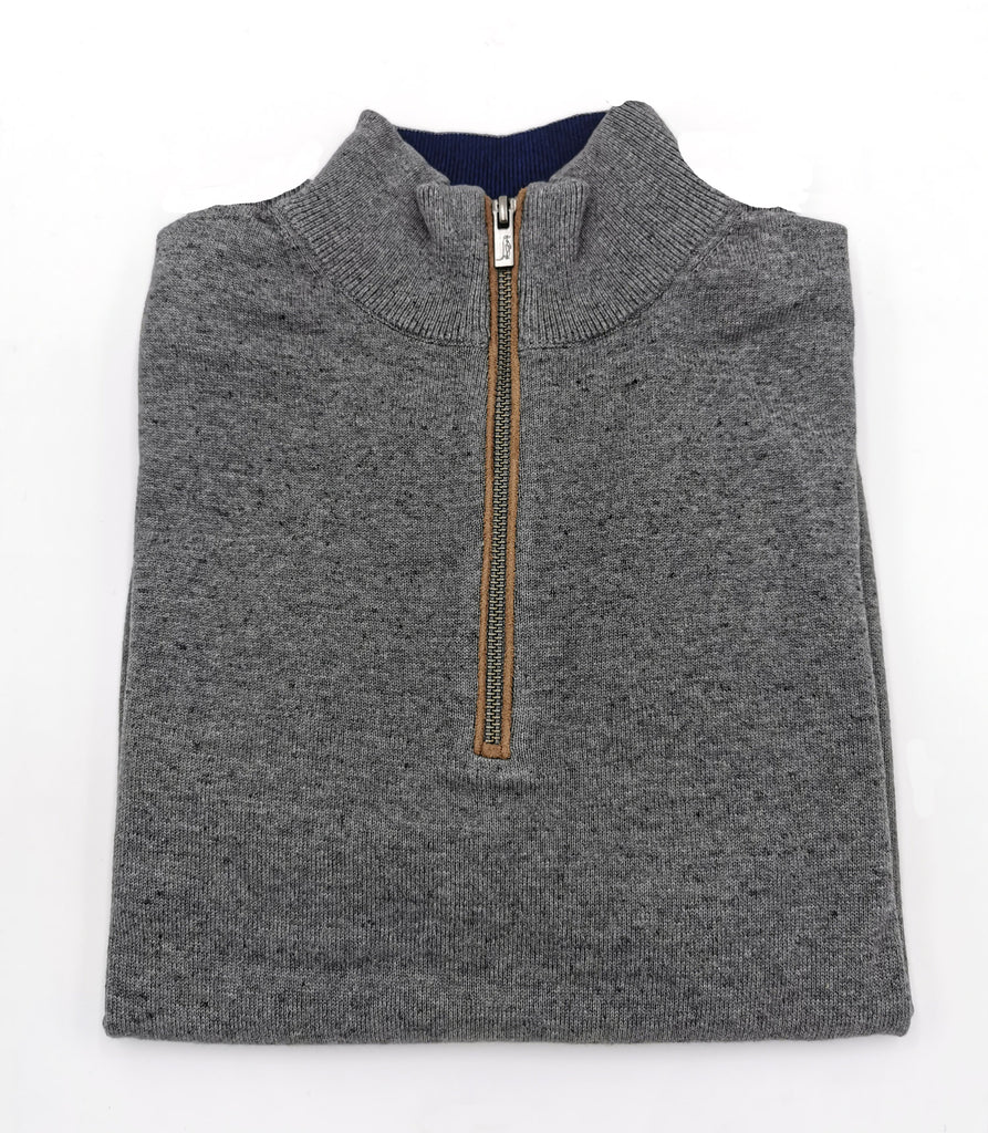 Ezra 1/2 Zip Up Jumper pearl