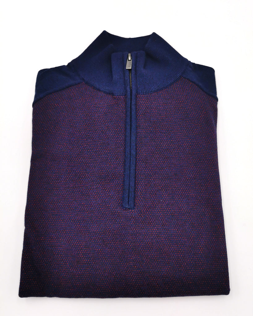 Ivan 1/2 Zip Up Jumper cab