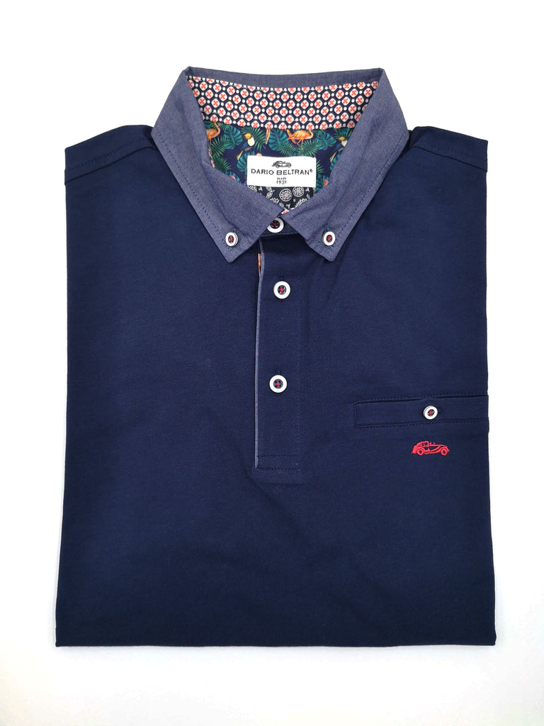 Corta Button Down Polo