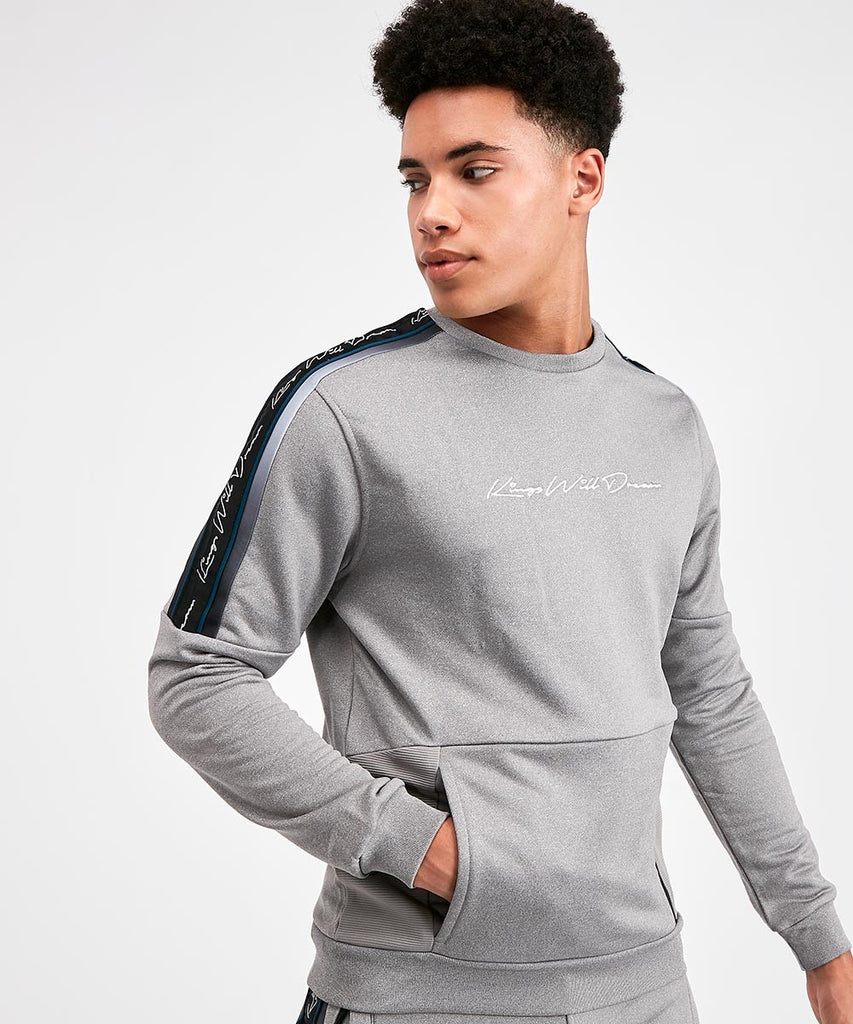 Miller Otto Pnl Grey Crew neck Sweat