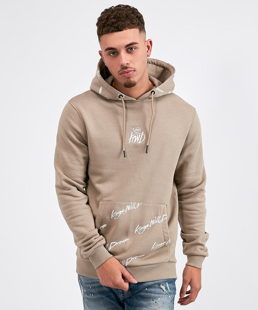 Kings Will Dream Lidston Script Sand Over the Head Hoodie