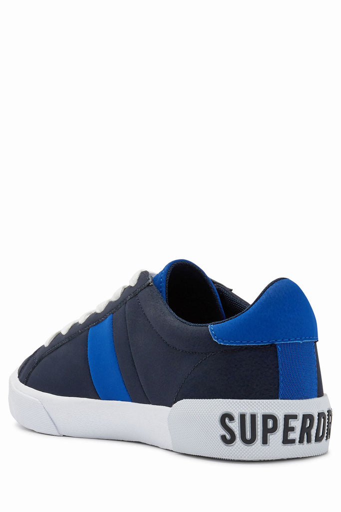 Vintage Court Navy Trainer by Superdry