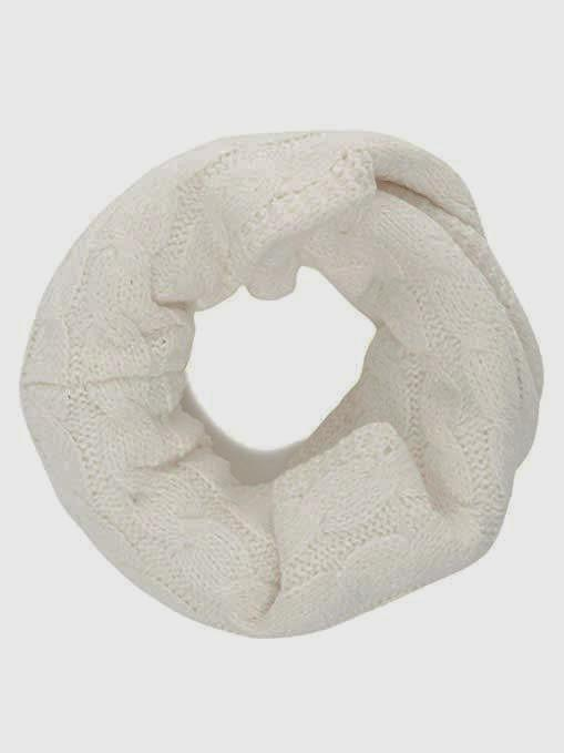 Superdry Ladies Carrie Cream Snood