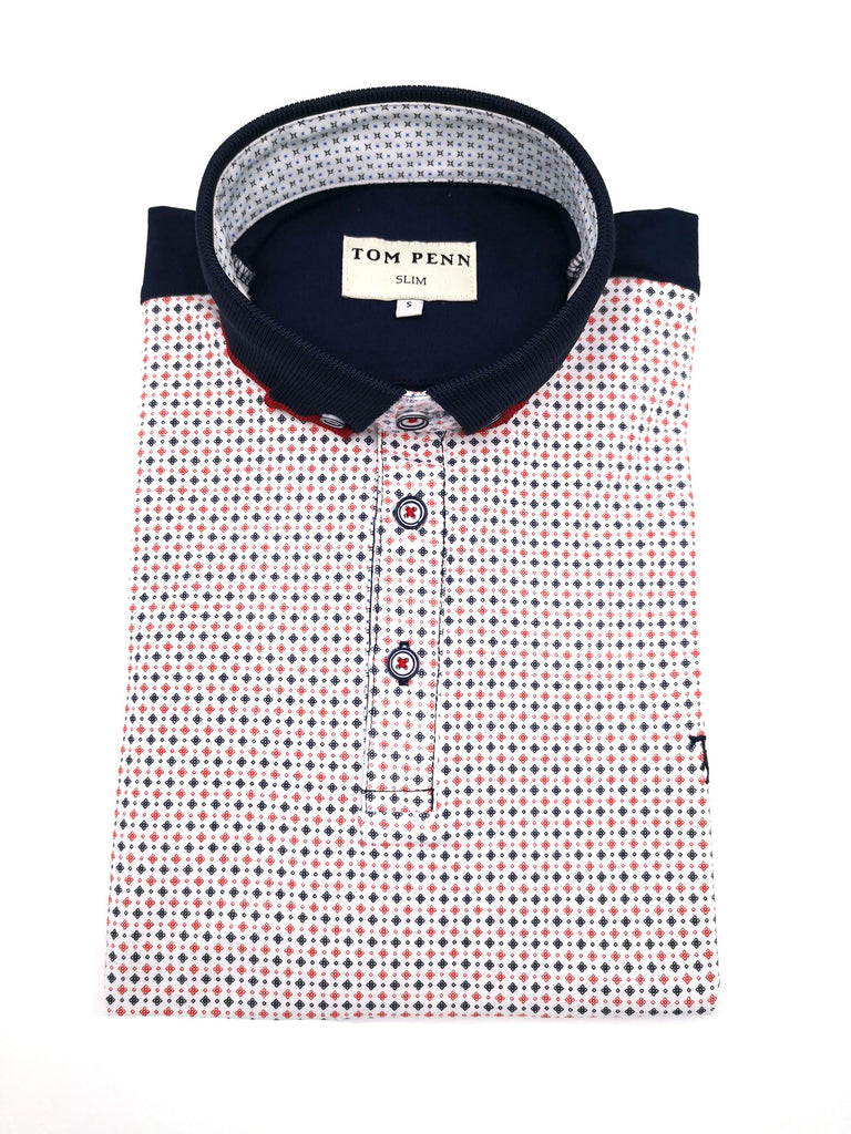 797 Print Short Sleeve Polo