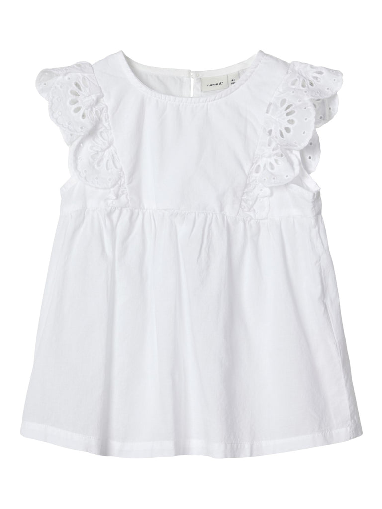 Broderie Anglaise Felicity Dress White