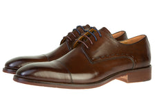Benetti Leather Arthur Brown/Chestnut Shoe