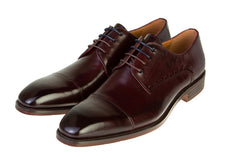 Benetti Leather Arthur Shoe Burgundy