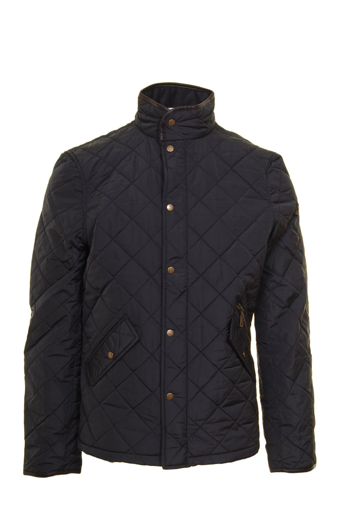 Ascot Quilted Grey Regular Fit Jacket by 6th Sense - Front