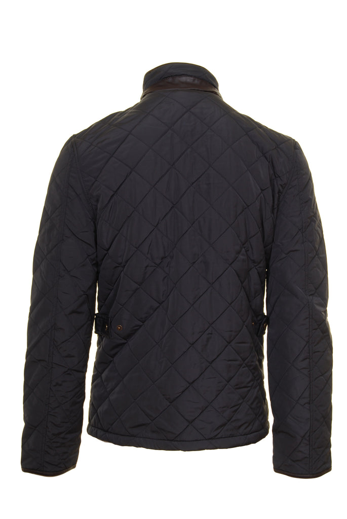 Ascot Quilted Grey Regular Fit Jacket by 6th Sense - Back