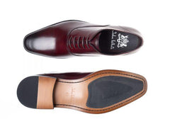 Bay Bordo Capped Oxfords Calf Leather Shoe