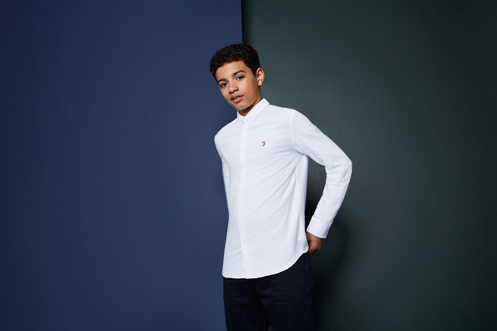 Brewer Oxford Farah Junior Shirt