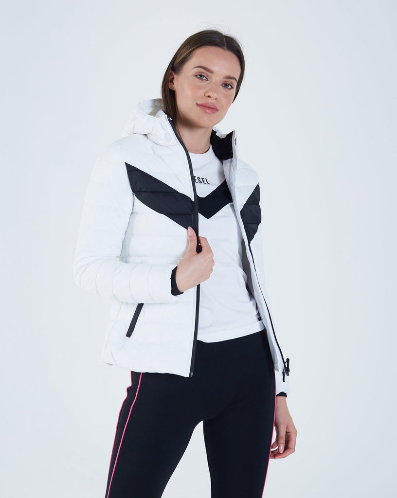 Women's Hooded Cynthia Jacket Optic White