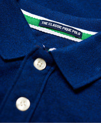 Classic Pique Utah Royal Grit Polo by Superdry