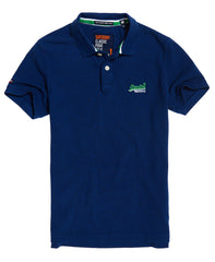 Classic Pique Utah Royal Grit Polo by Superdr
