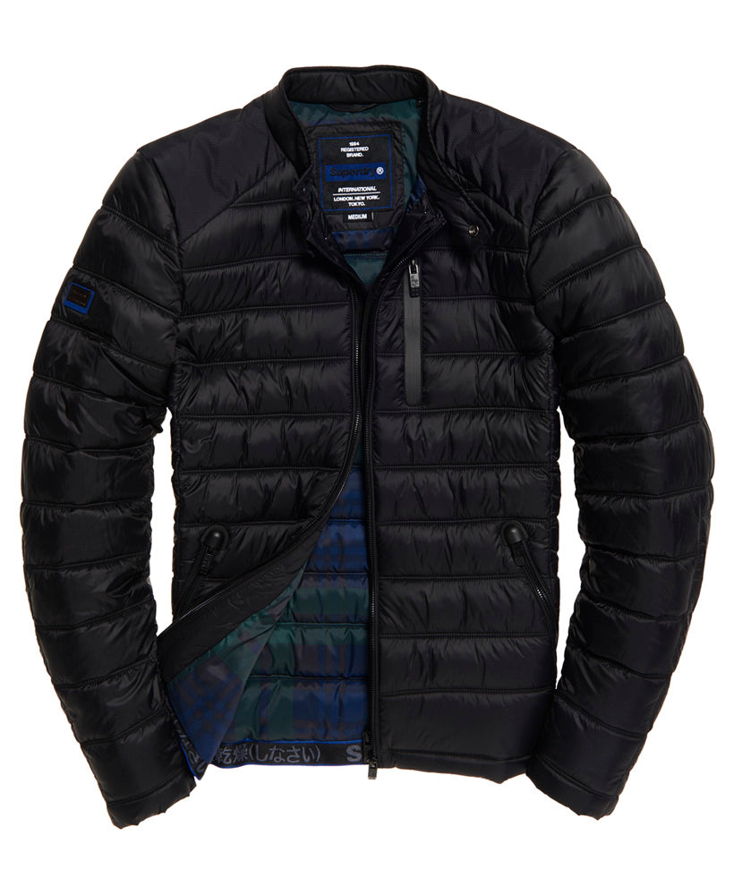 Commuter Quilted Biker by Superdry