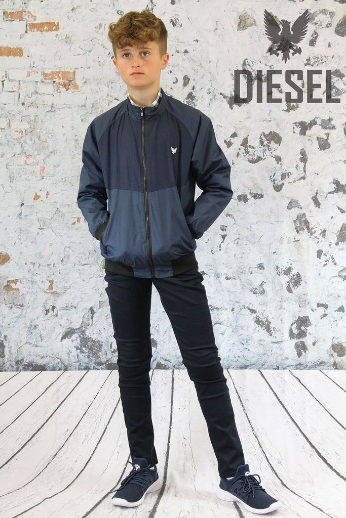 DKB-703 Diesel Youths Navy Leon Jacket.