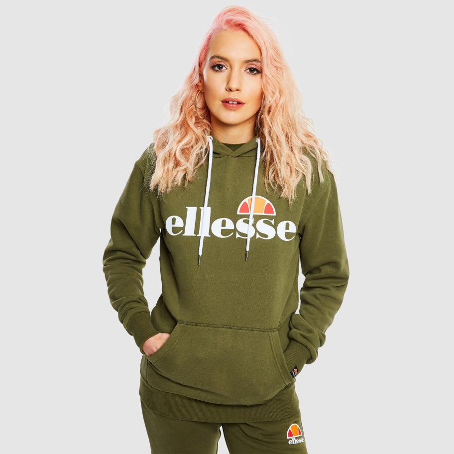 Women's Torices Over Head Hoody Khaki