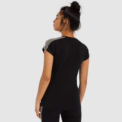 Mails Tee Black by Ellesse Womens back