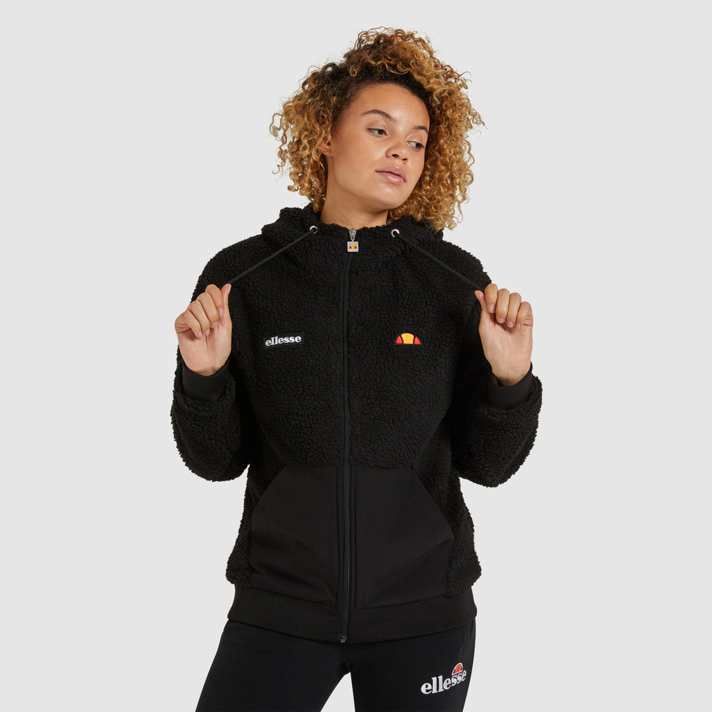 Ellesse Avo Black Women's Hooded Jacket