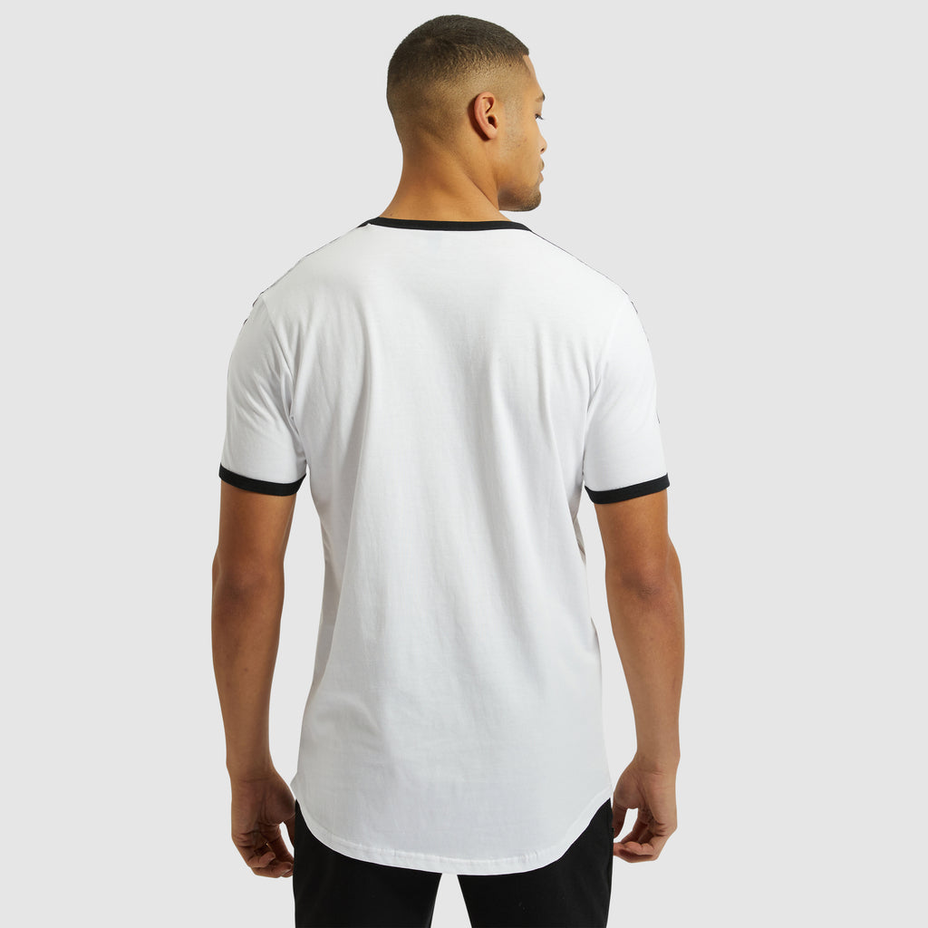 Fedora White short sleeve Tee
