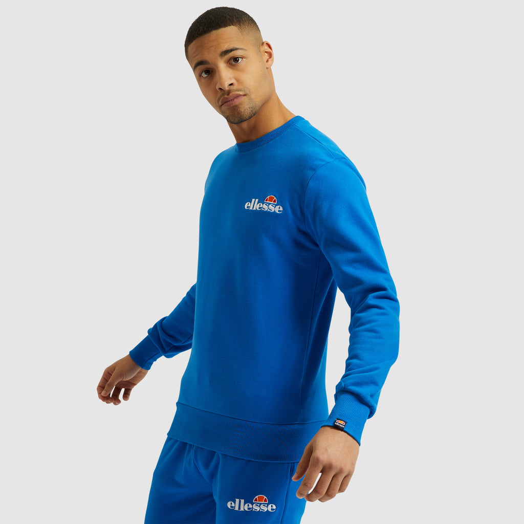 Sindar Blue Long Sleeve Sweatshirt by Ellesse