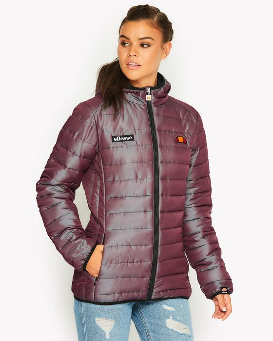 Purple Lexus Wadded Jacket by Ellesse