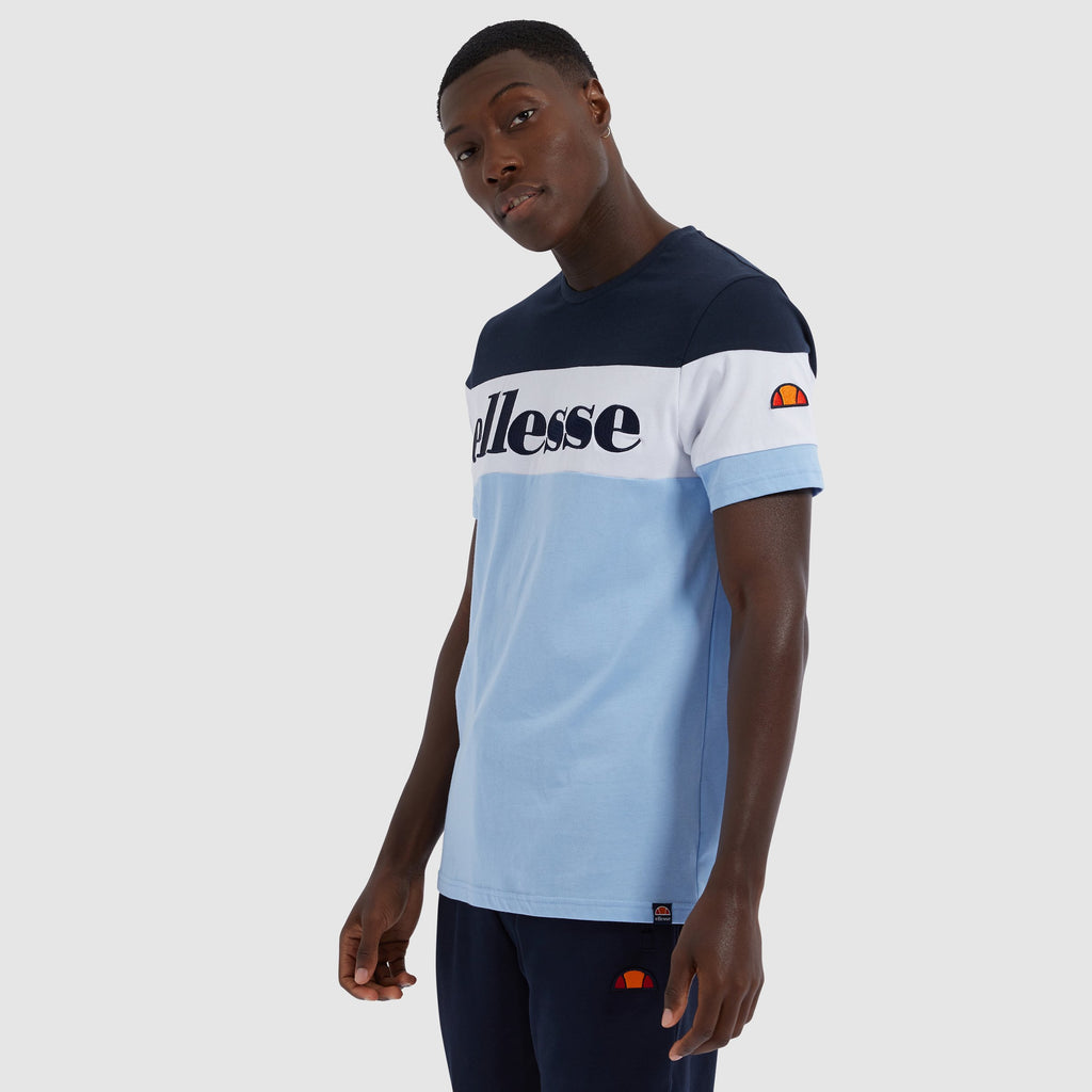 Ellesse Punto Short Sleeve Tee Light Blue