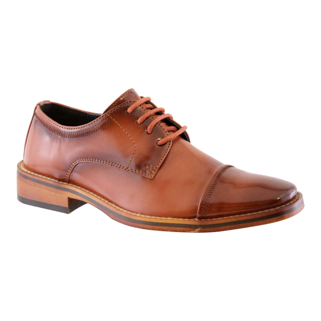 Goor-996 Tan Boys Shoe