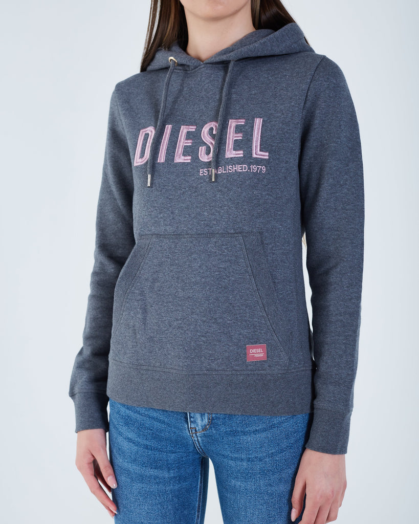 Women's Grey Over The Head Hoodie
