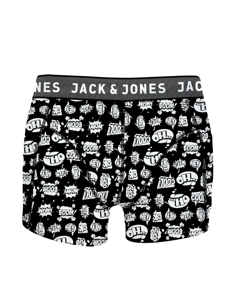 Hector Black trunks without fly by JACK & JONES