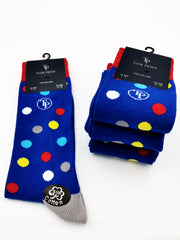 Tom Penn Royal muli colour sock. TPS014
