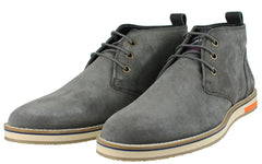Superdry Dark Charcoal Chukka  Boot.