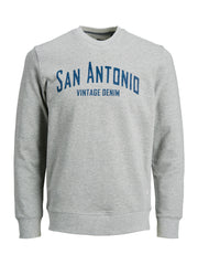 Noah Sweat Crew Neck grey