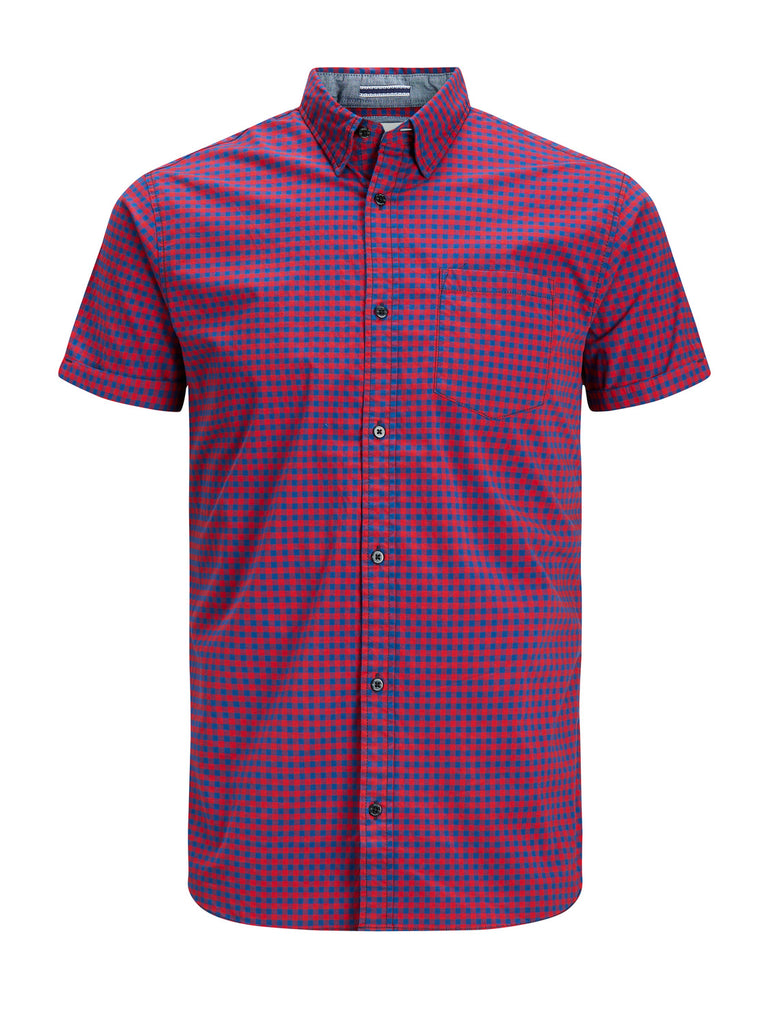 Montreal Chilli Pepper Check Short Sleeve Shirt