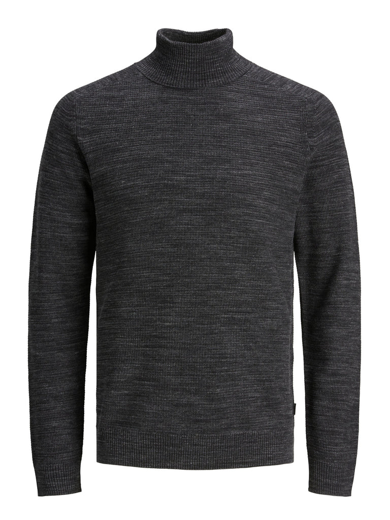 Moniter Roll Neck Knit grey