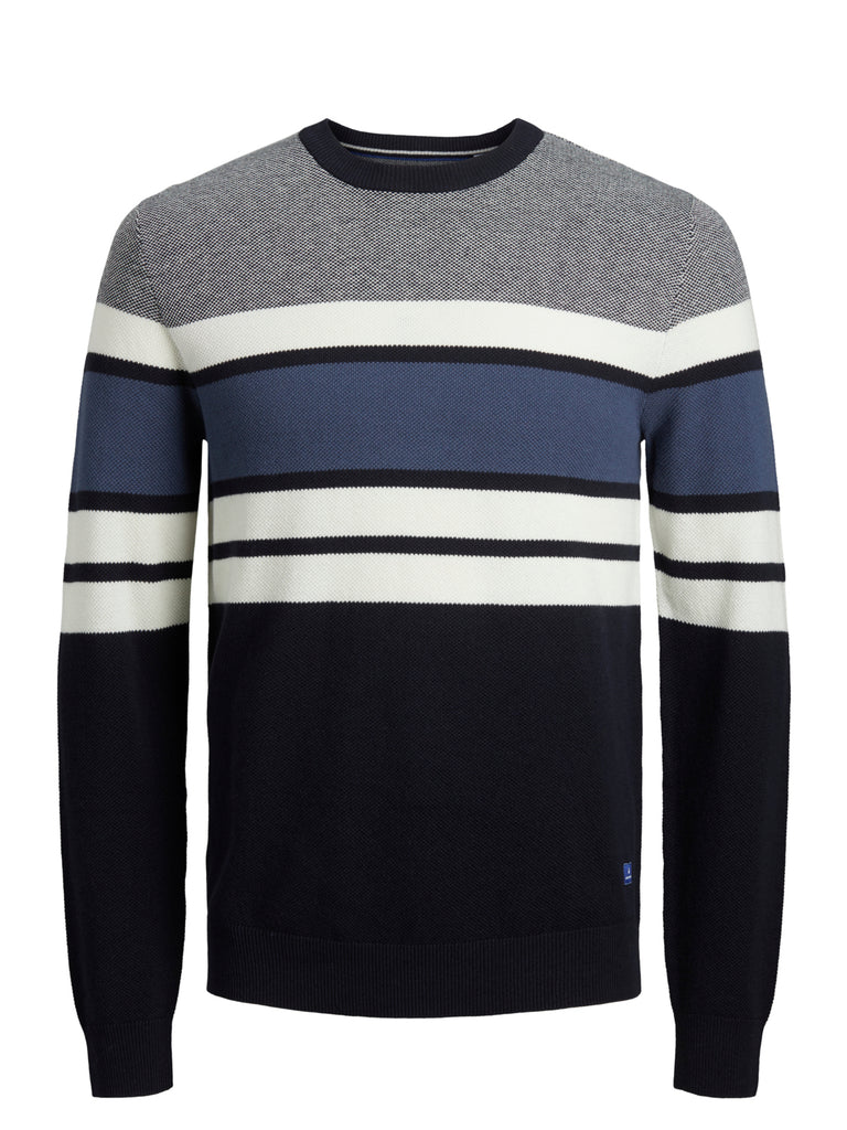 Men's Tucker Crew Neck Cloud Dancer Knit