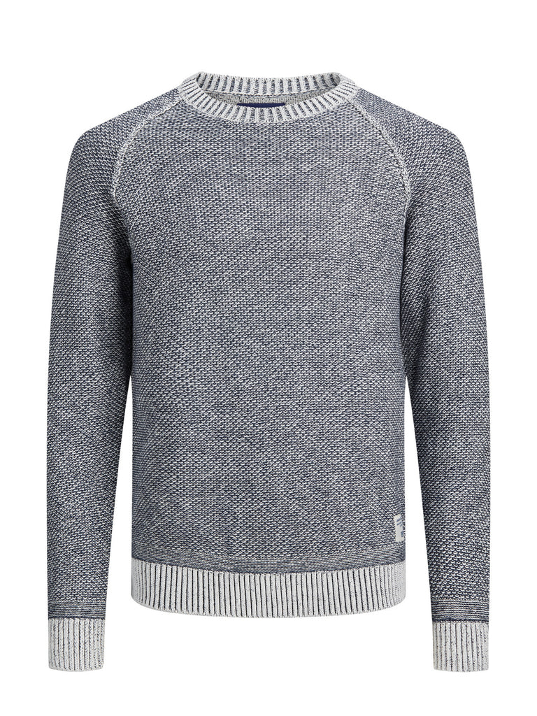 Marlon Navy 3 Crew Neck Men's Jumper